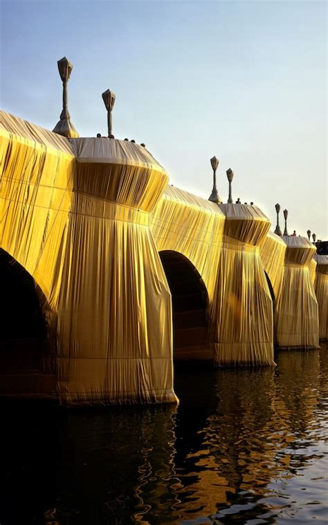 Christo unveils a modern miracle: 'For 16 days, they will