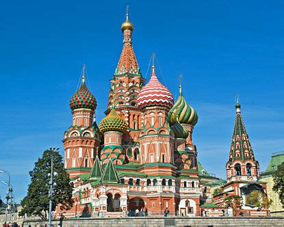 St Basils Cathedral - Moscow Cathedral
