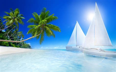 Tropical Beache Wallpapers | HD Wallpapers | ID #13659