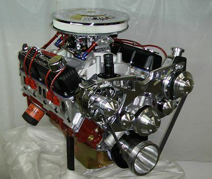Chrysler 360 Stroker Crate Engine With 475HP Dyno Tested
