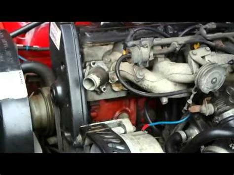 Replace thermostat Volvo 740 and 940 - YouTube