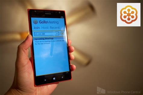 GoToMeeting comes to Windows Phone 8 - create and join