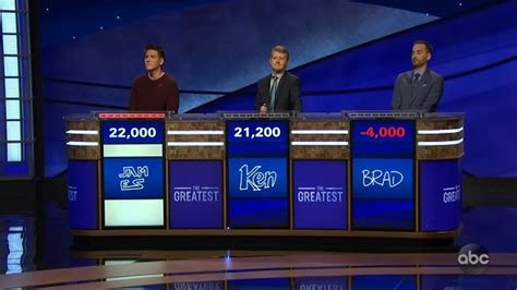 'Jeopardy! The Greatest of All Time:' Who won game 2