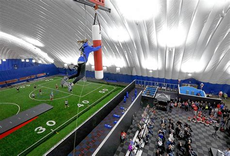 Bo hopes dome scores big with young athletes - News