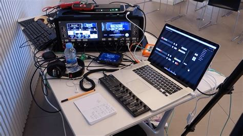 Full Conference Recording Setup - Live Streaming and Live