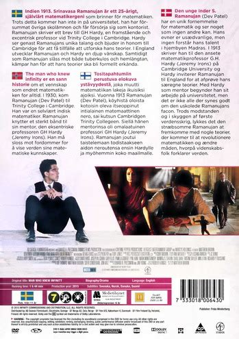 The Man who knew Infinity - DVD - Discshop
