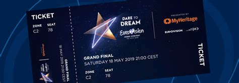 How to get tickets for Eurovision 2019