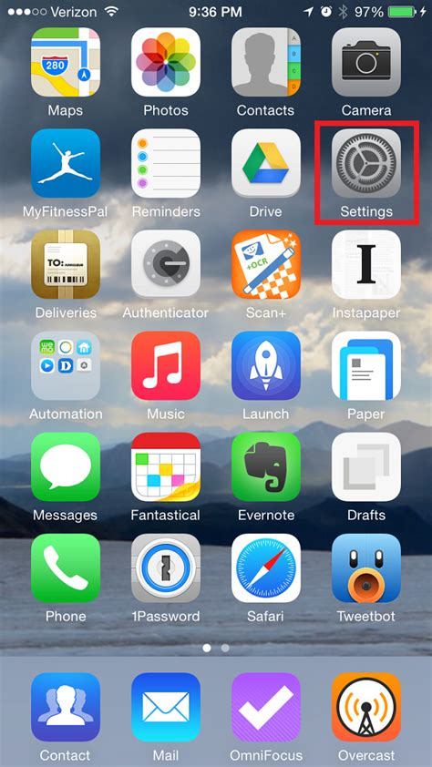 Home Screen iPhone 6 - IMEI-Index