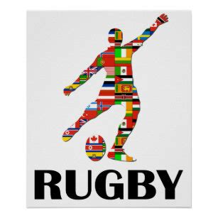 Rugby Poster | Zazzle