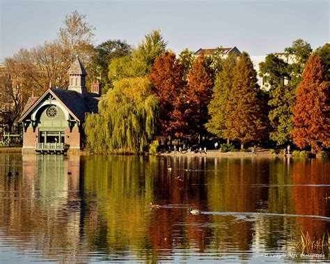 Photo entry: Harlem Meer in Fall