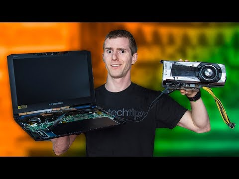 Is there any way to connect a desktop GPU (say, Nvid GF210
