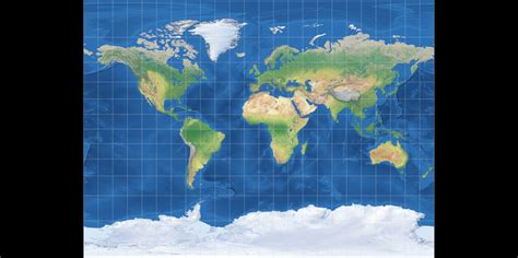 Miller: Compare Map Projections
