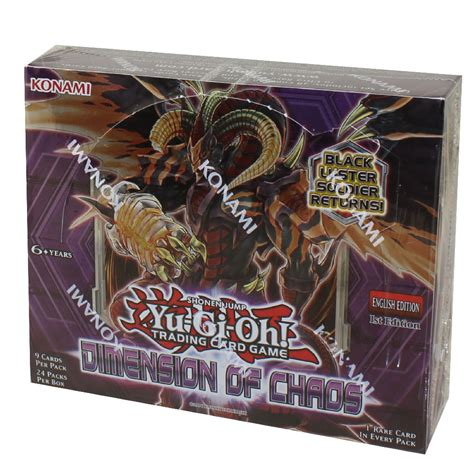 Yu-Gi-Oh Cards - Dimension of Chaos - Booster Box (24