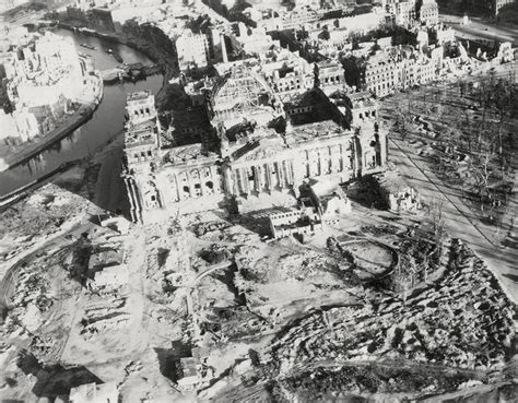 Reichstag, 1945 | East and West Germany prior to 1950s