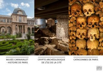 Parcours Carnavalet - Crypte - Catacombes   Crypte