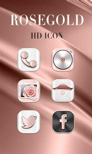 Rosegold GO Launcher Theme - Apps on Google Play