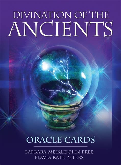 Divination Of The Ancients : Oracle Cards