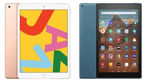 iPad vs Kindle Fire HD (2020): Which Entry-Level Tablet Is
