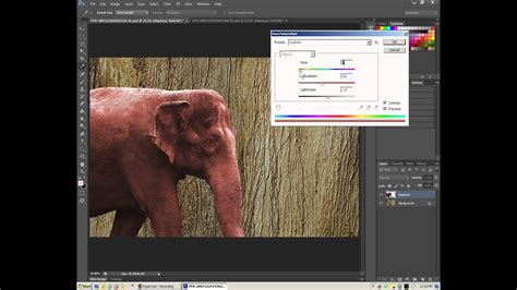 Photoshop - Change the Color of a Selection or Layer - Hue