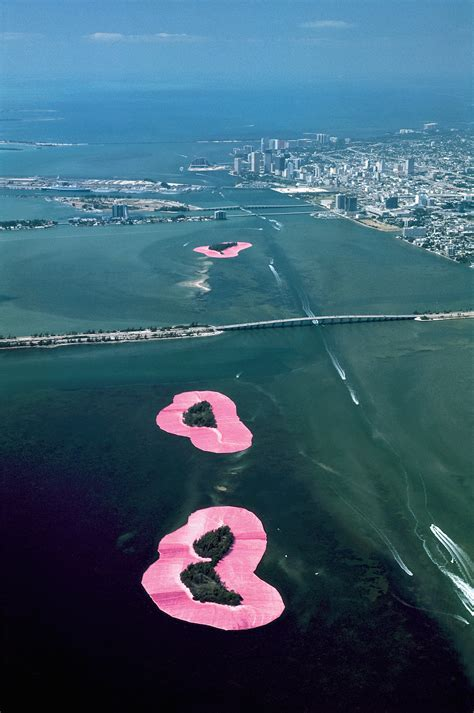 The Surrounded Islands Of Christo And Jeanne-Claude - IGNANT