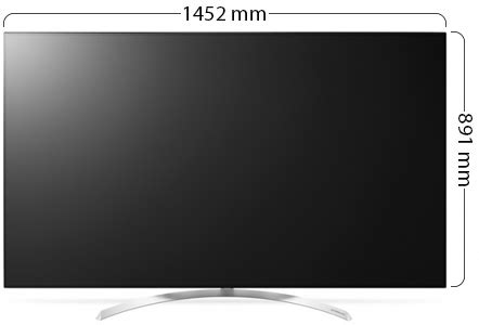 LG 65 Inch LED Tv Super Ultra HD 4k Smart With Built-In 4k
