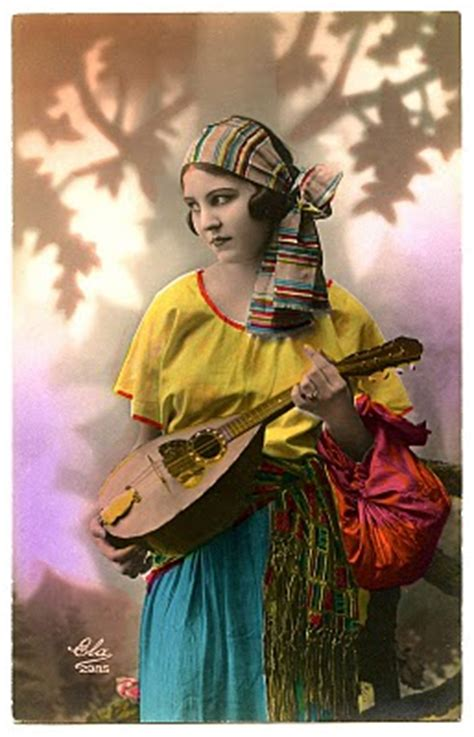 Vintage Image - Fabulous Gypsy - The Graphics Fairy