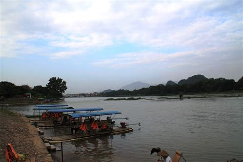 Guilin, China: Elephant Trunk Hill Park - i put my life on