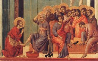 Why did Jesus wash the disciples feet?