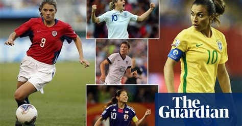 The 20 greatest female football players of all time