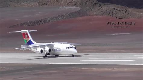 St Helena Airport receives it's first commercial