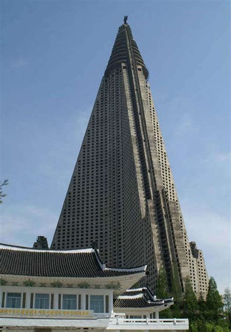 Ryugyong Hotel: Giant Building of North Korea - XciteFun