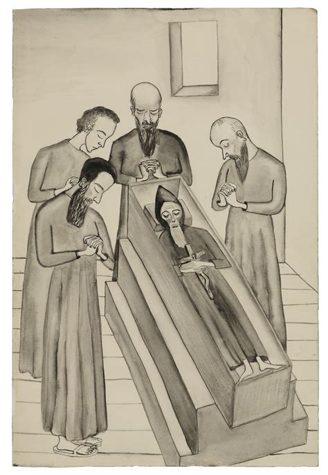"""Alice Neel's Unpublished Illustrations of """"The Brothers"""