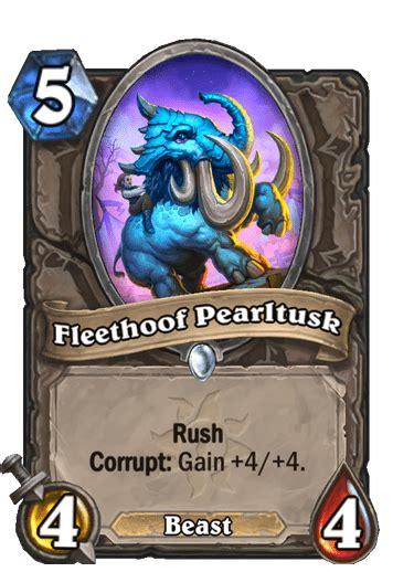 Every card with Corrupt from Hearthstone's Madness at the