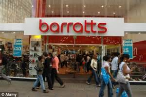 Huge blow for the High Street as shoe chain Barratts sheds