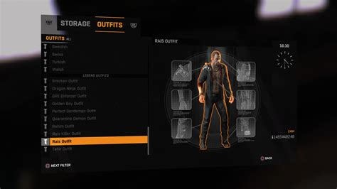 Legend Outfits in Dying Light: The following - Gosu Noob