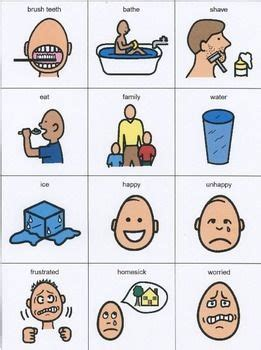 14 best images about Aphasia Communication Boards on Pinterest