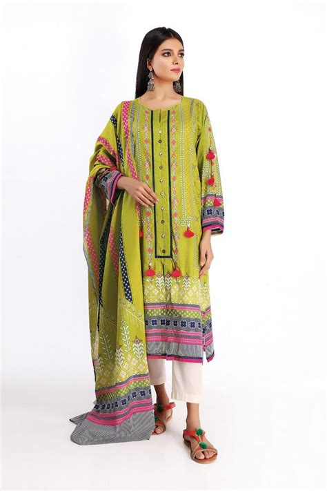 Khaadi Latest Summer Lawn Dresses Designs Collection 2020