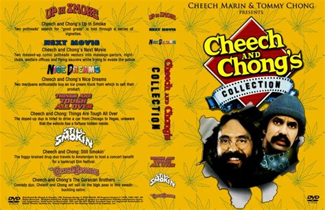 Cheech And Chong's Collection - Movie DVD Custom Covers