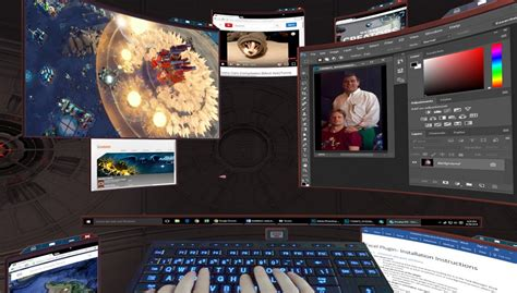4 Virtual Reality Desktops For Vive and Rift Compared