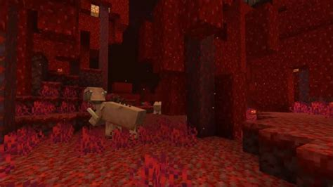 Minecraft's Nether is getting an overhaul, with new biomes