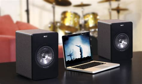 KEF X300AW Wireless PC Speakers Aimed at Well-Heeled