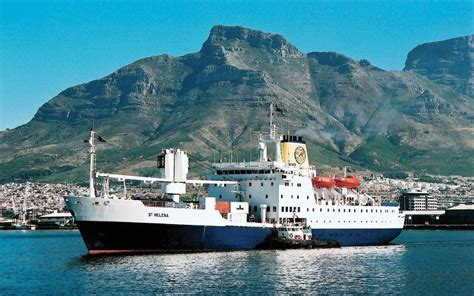 Last chance to sail on the RMS St Helena