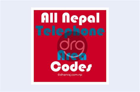 All Nepal Telephone Area Codes