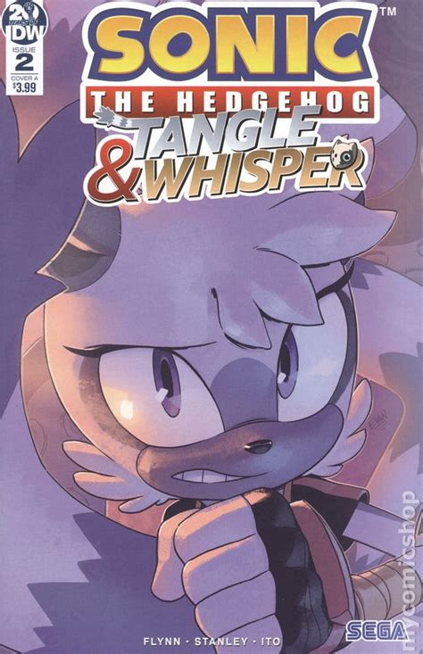 Sonic the Hedgehog Tangle and Whisper (2019 IDW) comic books