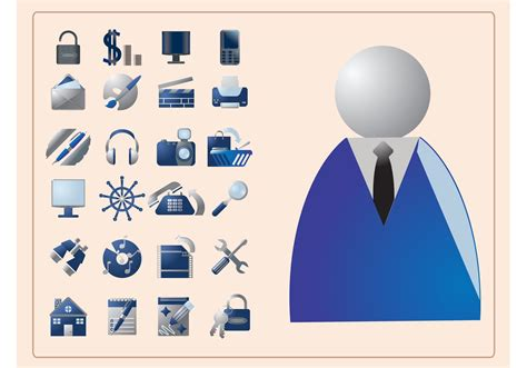 Business Icons - Download Free Vector Art, Stock Graphics