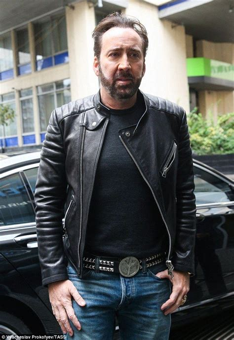 Nicolas Cage looks unrecognisable as he debuts new bearded