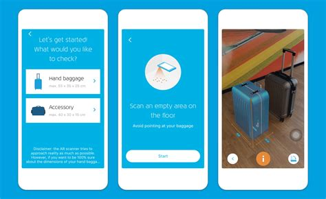 KLM launches Augmented Reality for hand baggage check