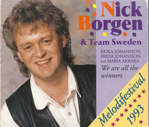 Nick Borgen & Team Sweden - We Are All The Winners (1993