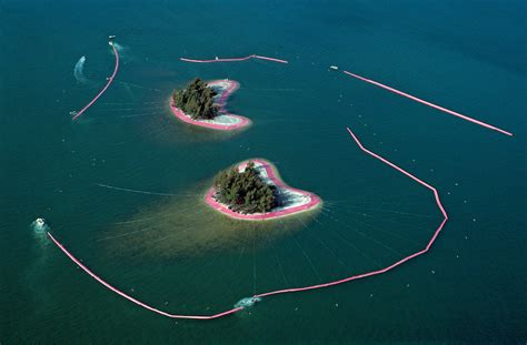 The Surrounded Islands Of Christo And Jeanne-Claude